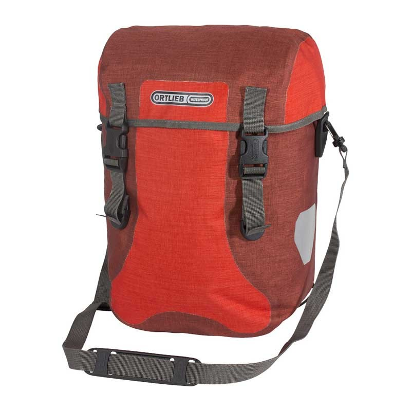 Ortlieb SPORT-PACKER PLUS (Paar) Signal Red-Dark Chili 30l