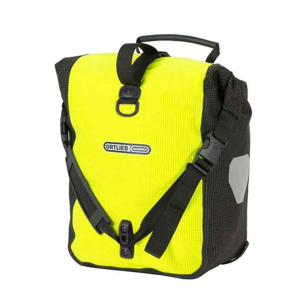 ORTLIEB SPORT-ROLLER HIGH VISIBILITY Neon Yellow-Black Reflective