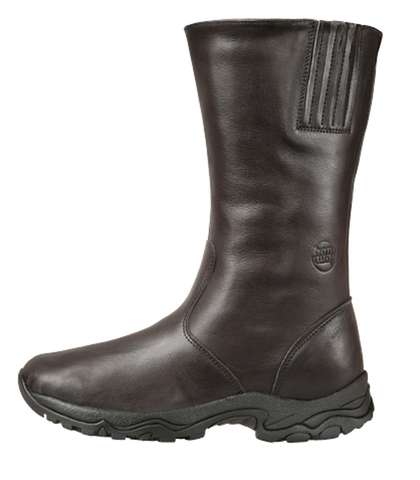 HANWAG Winterstiefel Tannäs Classic Lady Leder Gr.6,5 graphite