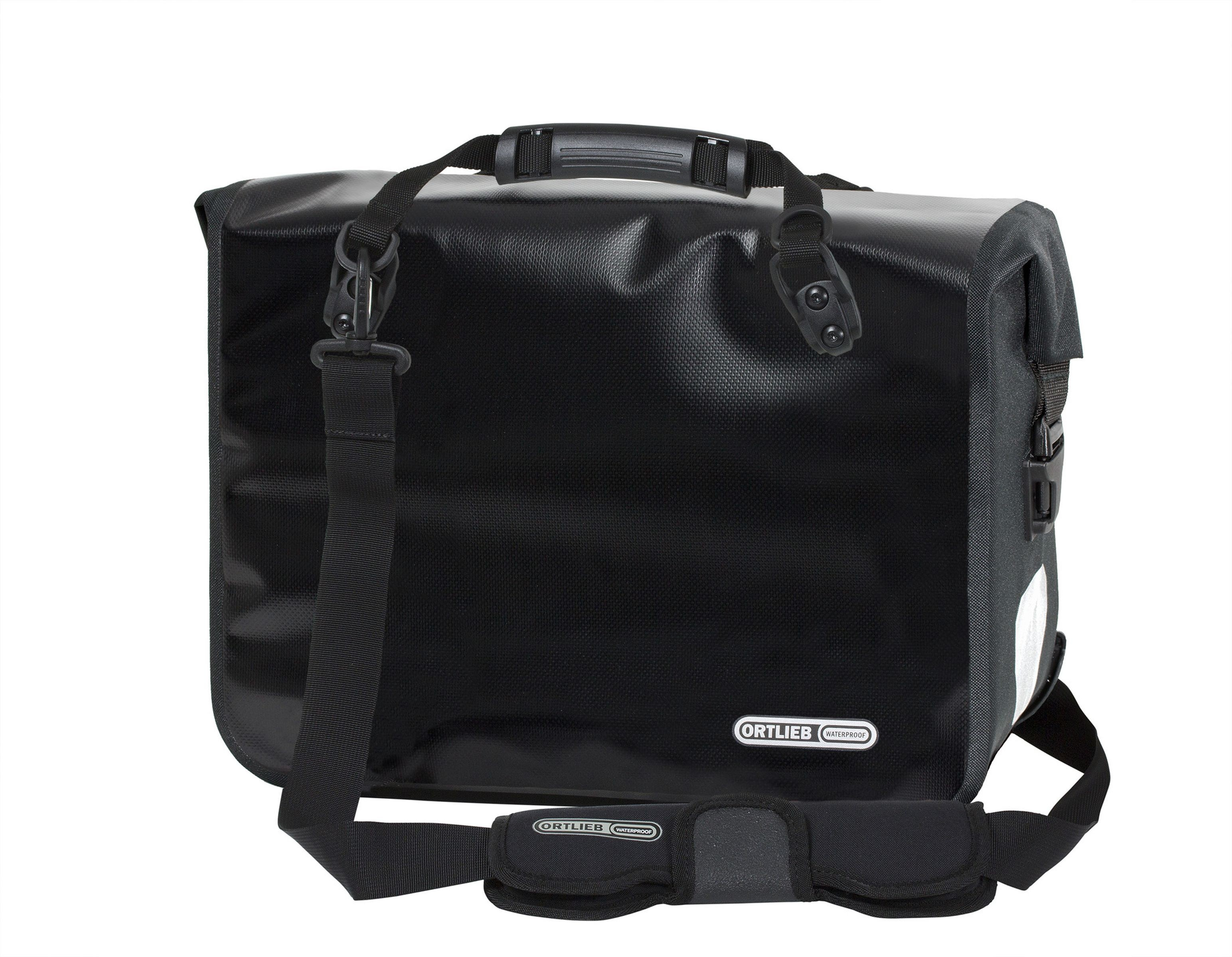 Ortlieb Office-Bag - Black-Reflective 21l - QL2.1 - PD620