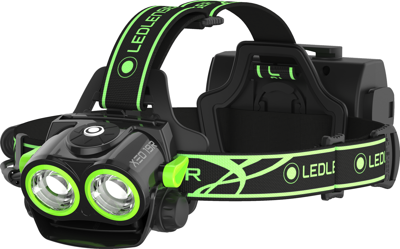 Ledlenser XEO19R - Stirnlampe Black/Green