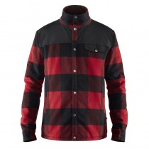 canada-wool-padded-jacket-m-red