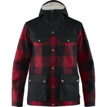greenland-rewool-jacket-m-red-black