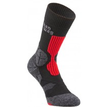 hanwag-trek-sock-asphalt-red-810200