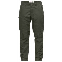 fjällräven high coast zip-off trousers w